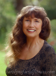 Carolyn Cleaves, Founder of Carolyn's Facial Fitness and Carolyns Facial Formulas